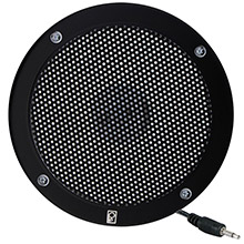 POLY-PLANAR 5 inch VHF Extension Speaker - Flush Mount - (Single) Black