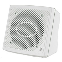 POLY-PLANAR 5.25 inch Premium Enclosed Flush 2-Way Marine Speaker - (Pair) White