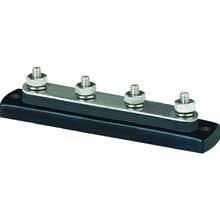 BLUE SEA Busbar 4x1/4 stud common bus