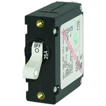 BLUE SEA 7218 circuit breaker aa1 25a wht