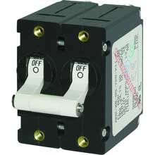Blue sea 7240 circuit breaker aa2 40a wht