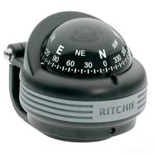 Ritchie TR%2D31 Trek Compass %2D Bracket Mount %2D Black