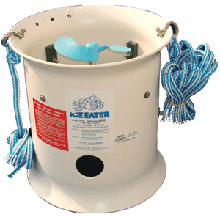 ICE EATER 1/2hp w/25 ft cord - 115v