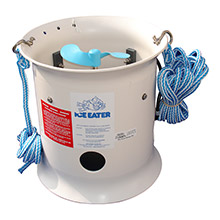 ICE EATER 1hp w/25 ft cord - 230v