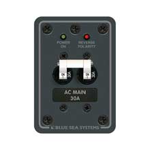 Blue sea 8077 breaker panel 120vac 30a main