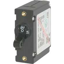 BLUE SEA 7200 circuit breaker aa1 5a black