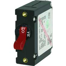 BLUE SEA 7213 circuit breaker aa1 20a red
