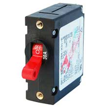 BLUE SEA 7221 circuit breaker aa1 30a red