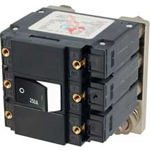 BLUE SEA 7477 circuit breaker lc3 250a