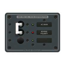 BLUE SEA 8129 breaker panel 230vac 1 pos