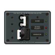 BLUE SEA 8132 breaker panel 230vac 16a