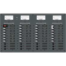 BLUE SEA 8195 breaker panel 30-12v 10-230ac
