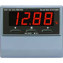 BLUE SEA 8251 digital dc voltage meter