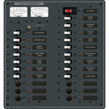 BLUE SEA 8380 breaker panel dc 22 pos main