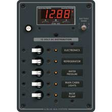 BLUE SEA 8401 breaker panel dc 5 pos