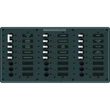 Blue sea 8465 breaker panel 120vac 24 pos