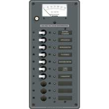 BLUE SEA 8478 breaker panel 120vac 10 pos