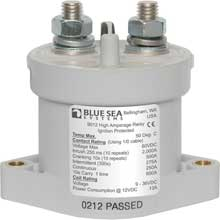 Blue sea 9012 solenoid l series 250a12/24v