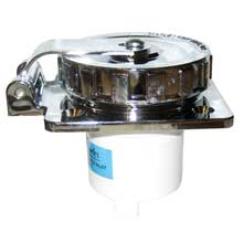 Charles 30 amp, 125v inlet - chrome plated abs