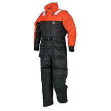 MUSTANG SURVIVAL Deluxe Anti-Exposure Coverall Worksuit - XXL - Orange/Black