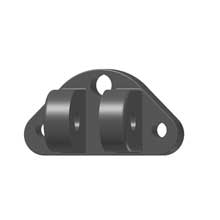 Lenco Marine Compact upper mounting  bracket (2 screw 1 wire)