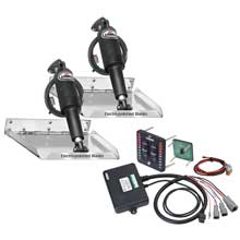 Lenco Marine 12inch x12inch  racing tab kit  w/ indicator switch