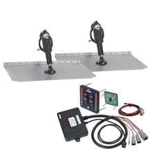 LENCO 12inch x 12inch trim tab kit w/ indicator switch