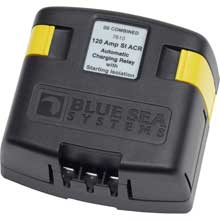 Blue sea 7610 solenoid si series 120a 12/24v acr