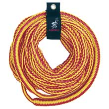 AIRHEAD WATERSPORTS 4,150 lb bungee tube tow rope 50 ft 1-4 riders