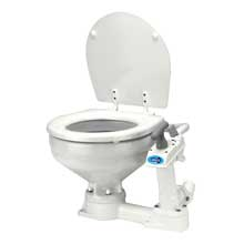 Jabsco Compact bowl manually operated marine toilet