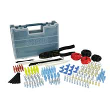 ANCOR 225 piece twin kit electrical repair kit w/ tool