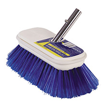 SWOBBIT 7.5 inch extra soft brush - blue