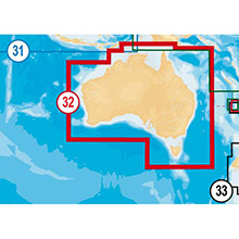 NAVIONICS Australia Gold Marine Charts on micro SD Card