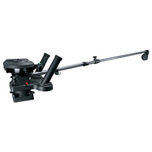 SCOTTY 1116 propack 60 inch telescoping electric downrigger w/ dual rod holders and swivel base