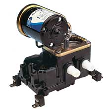 JABSCO 36600 belt driven diaphragm bilge pump 8 gpm 24v