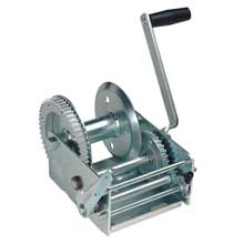 FULTON 3,700 lbs. 2-speed cable winch w/hand brake - hp series