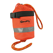 SCOTTY Throw bag w/50 ft mfp floating line