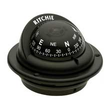RITCHIE Trek flush mount compass black