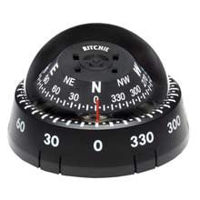 RITCHIE Kayaker surface mount compass black