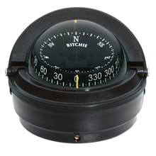 RITCHIE Voyager surface mount compass black