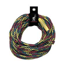 AIRHEAD WATERSPORTS Deluxe 4,150 lb tube tow rope 60 ft. 1-4 rider