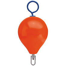 POLYFORM US Mooring Buoy w/Iron 13.5 inch Diameter - Red