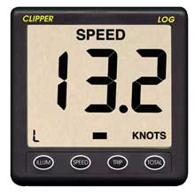 CLIPPER Easy log speed distance nmea 0183