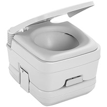 DOMETIC SANITATION 964 msd portable toilet 2.5 gallon platinum