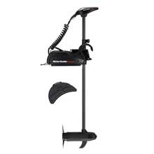 MOTORGUIDE Wireless w55 freshwater bow mount trolling motor - wireless foot pedal - 12v-55lb-60inch