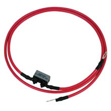 MOTORGUIDE 8 gauge battery cable terminals 4ft long