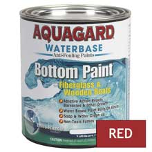 AQUAGARD Waterbased bottom paint quart red