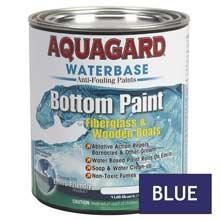 AQUAGARD Waterbased bottom paint quart blue