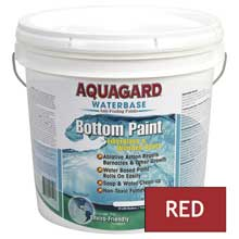 AQUAGARD Waterbased bottom paint 2 gallon red