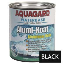 AQUAGARD Ii alumi-koat waterbased quart black